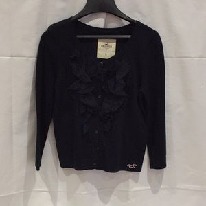 Hollister Cardigan size large